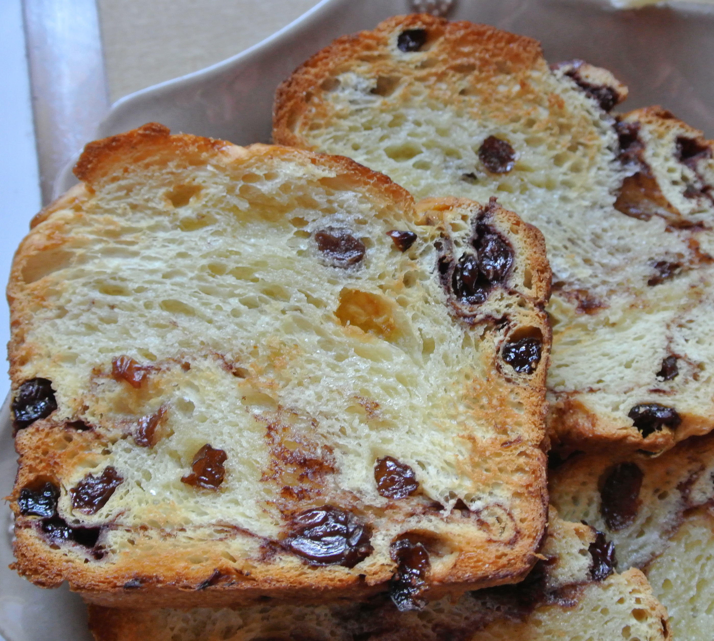 Homemade Cinnamon Raisin Bread | Mama Goose Cuttin' Loose